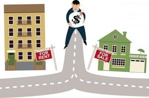 Buying vs. Renting a home
