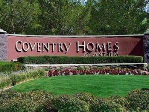 Coventry Homes at Anthem Henderson Real Estate