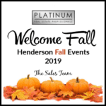 Fall Events in Henderson